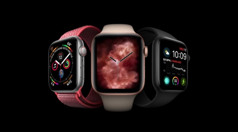 Apple Watch Series 4 announced.